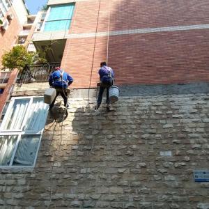 佳华世纪新城外墙排险修复