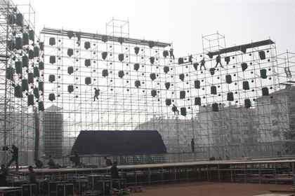 武汉雷亚架出租,专业舞台搭建安装
