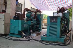 杭州专业发电机出租,提供国内外著名品牌发电机