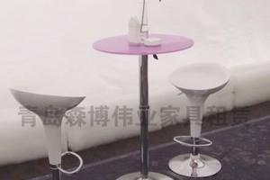 青岛吧桌椅租赁,满意一百