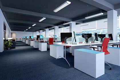 天津写字楼装修设计,众多设计方案任您挑选