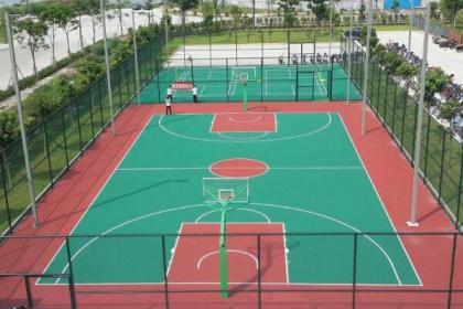 北京硅pu篮球场设计,给您满意服务