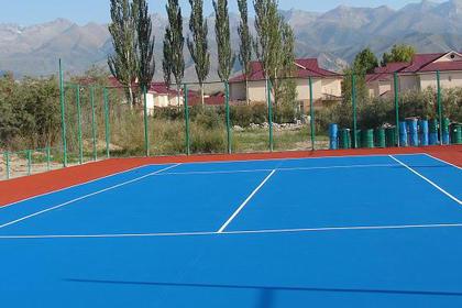 北京丙烯酸网球场设计施工,专业队伍服务
