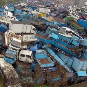 南山报废货车收购,价格高,服务优质