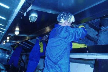 长沙油烟管道清洗,专业清洗团队,确保清洗干净