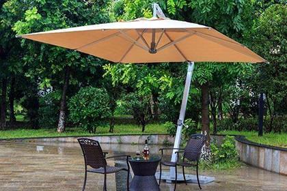 重庆户外休闲遮阳伞定做,百分百满意放心