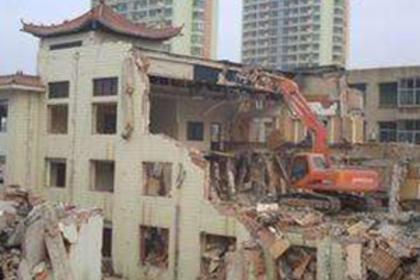 惠州楼房拆除,正规公司的首选