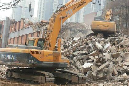 惠州楼房拆除,获得新老客户一致好评