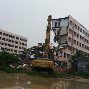 惠州楼房拆除公司,资质齐全,服务专业