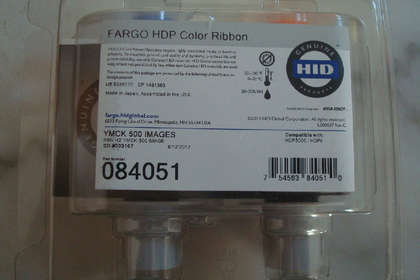 广州HDP5000打印机色带Fargo法高084051色带084053转印膜
