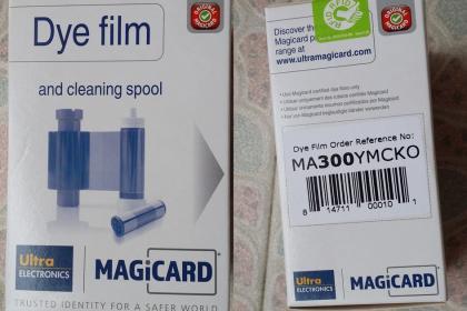 MA300证卡打印机色带,FA300证卡机色带,ING300彩色带