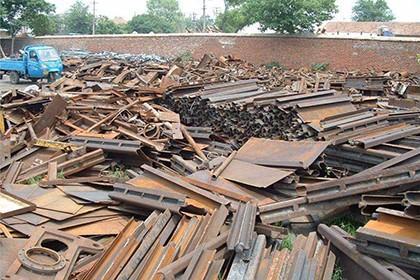 杭州回收废钢材,专业回收,价格从优