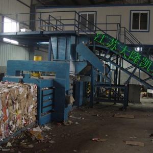 北京废纸打包机,智能操控,打包速度快