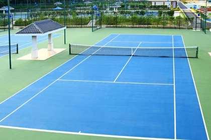 南昌网球场施工,缔造完美价值