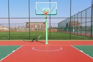 南昌篮球场翻新,选择我们选择专业