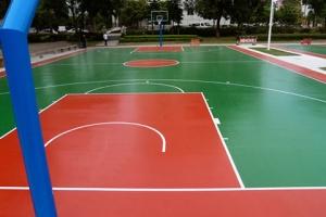 南昌篮球场建设,环保材料,健康耐磨