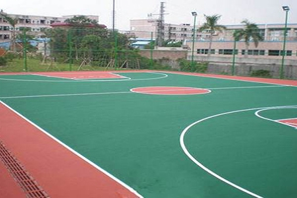 南昌丙烯酸篮球场建造,施工设计一条龙服务
