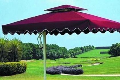 常州侧边伞安装定做,有效的防晒遮阳效果