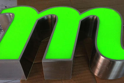西安发光字制作安装,产品美观,经久耐用