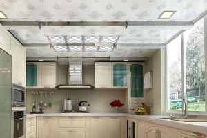 厨房吊顶空间搭配
