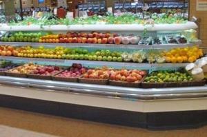 我们竭诚为您服务,天津水果风幕柜销售