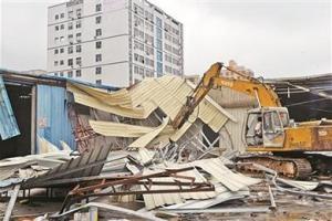 深圳宝安区铁皮房拆除,多年经验,实力雄厚