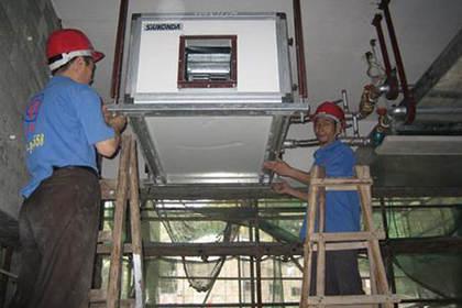 无锡锡山区中央空调清洗,专业团队,专心专业