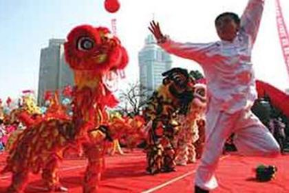 武汉舞狮表演团,以诚信求生存