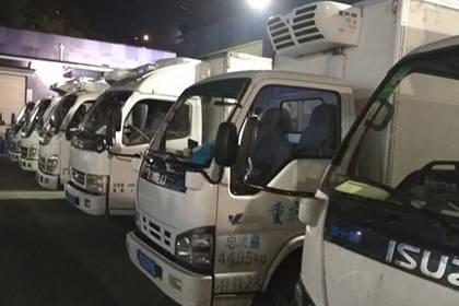 重庆冷藏配送,冷冻运输车辆运送公司
