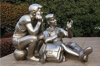 成都不锈钢雕塑,赢得众多商家青睐