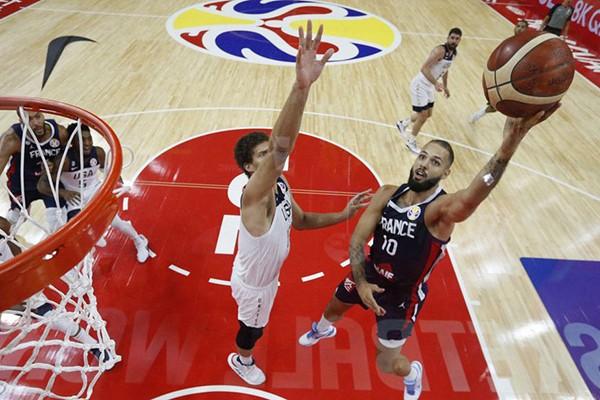 美国男篮13年大赛首败 法国晋级四强