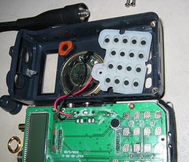 检修无电路图的对讲机时 更应把握正确的检修办法