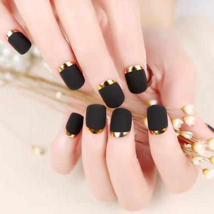 指甲简单花纹图案