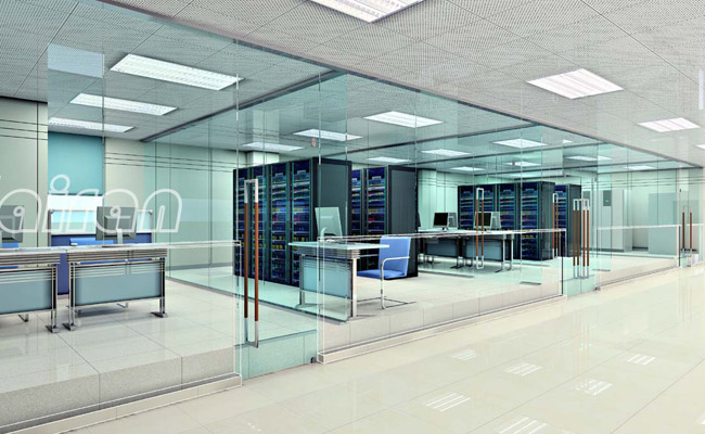 形象墙设计,接待台效果图设计,办公室室内效果图设计