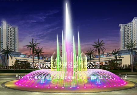 喷泉水景设计图片
