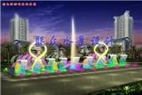 喷泉水景效果设计