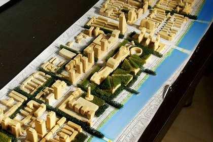 西安建筑沙盘模型