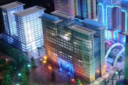 西安城市规划模型