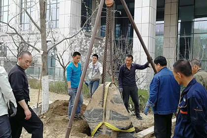 北京朝阳区制冷机吊装