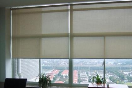 办公遮阳窗帘订做