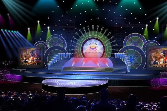 北京舞台背景板搭建