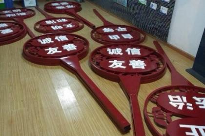 天津雕塑广告牌厂家
