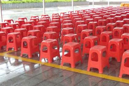 承接青岛塑料方凳出租,专业机构为您服务