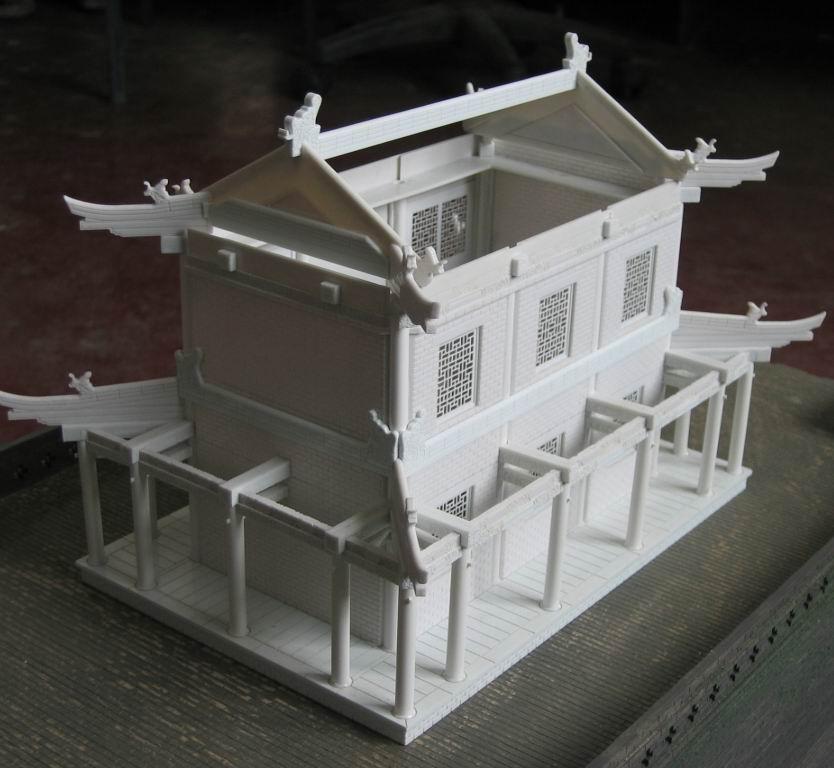 1203_仿古建筑模型制作-天津建筑模型制作公司_天津景