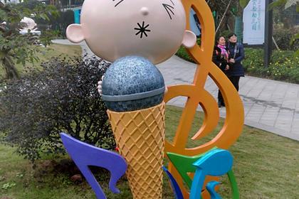 卡通泡沫雕塑供应