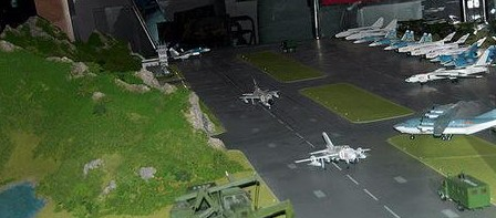 军事沙盘模型