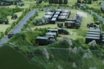 兰州军事沙盘模型