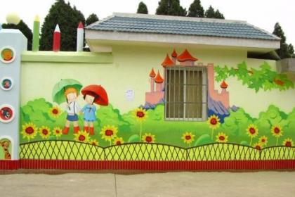 淮安幼儿园手绘墙,专业设计,从品质教育环境思维出发