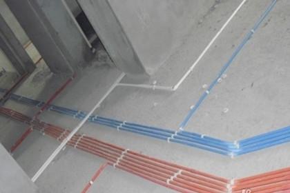 水电安装在家庭装修中起决定性的作用.
