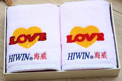 中山广告绣字毛巾价格